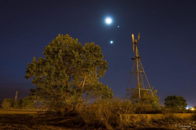 Conjunction-Moon-Venus-Jupiter-06-20-15